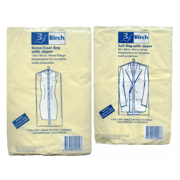 Birch Garment  Bag 1