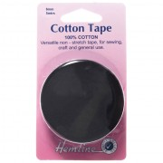 Cotton Tape_6mm_Black