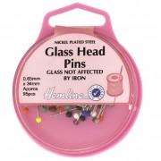 Hemline-glasshead-pins