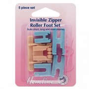 Invisable zipper foot