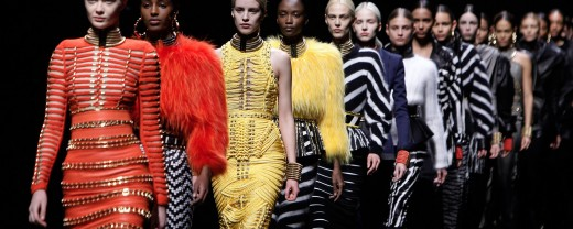 APTOPIX Paris Fashion Balmain